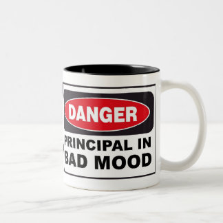 Principal in Bad Mood Two-Tone Coffee Mug