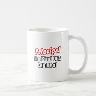 Principal...Kind of a Big Deal Basic White Mug