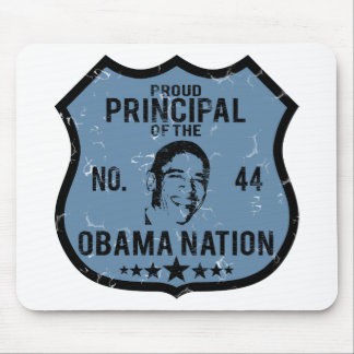 Principal Obama Nation Mouse Pad