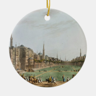 Principal Square in Grand Cairo, with Murad Bey's Christmas Ornament