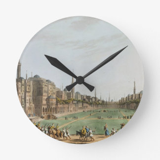 Principal Square in Grand Cairo, with Murad Bey's Round Clock