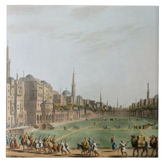 Principal Square in Grand Cairo, with Murad Bey's Tile