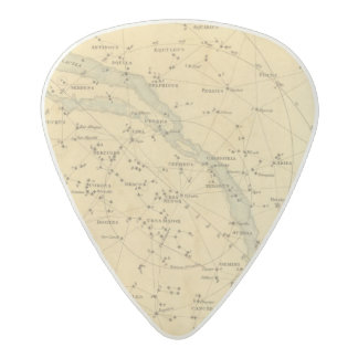 Principal Stars Visible to Great Britain Acetal Guitar Pick