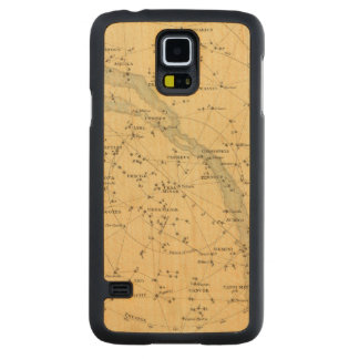 Principal Stars Visible to Great Britain Maple Galaxy S5 Slim Case