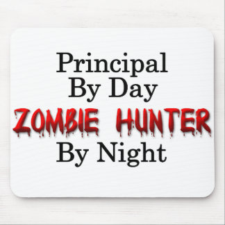 Principal/Zombie Hunter Mouse Pad