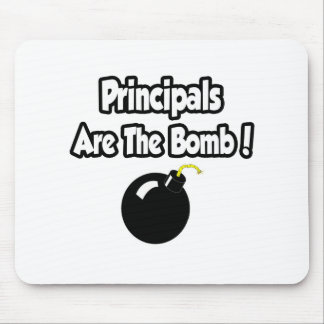 Principals Are The Bomb! Mouse Mat