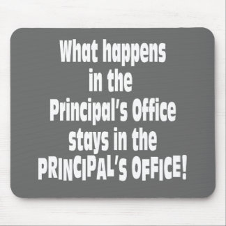 Principal's Office Mouse Pad