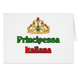 Principessa Italiana (Italian Princess) Card