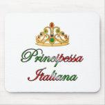 Principessa Italiana (Italian Princess) Mouse Pad