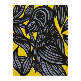 Principled Healing Angelic Imaginative Wood Print