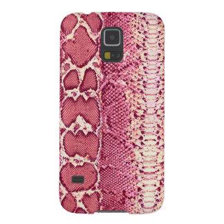 Prink Snake Skin Print Galaxy S5 Cover