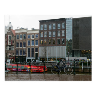 prinsengracht canal postcard