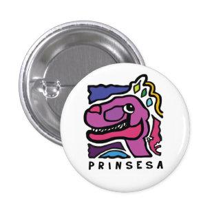 Prinsesa Logo - Small Button