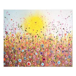 "Print (24"" x 20"") - 'Autumn Flourish' Photograph"