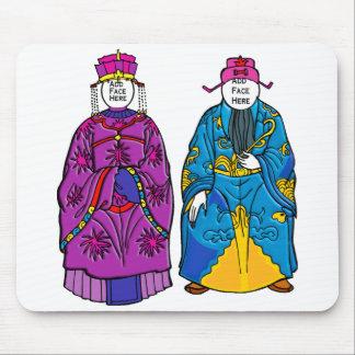 Print: Emperor & Empress Mouse Pad
