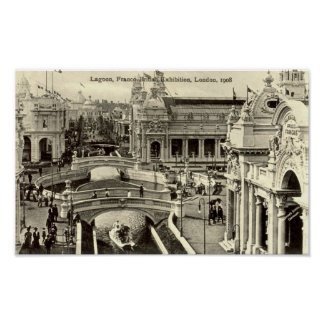 Print - Franco-British Exhibition 1908