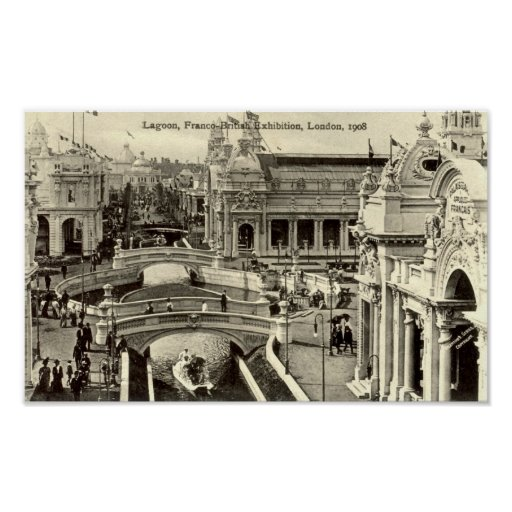 Print - Franco-British Exhibition 1908