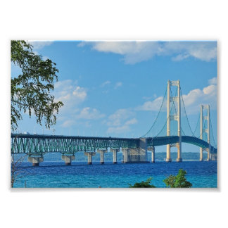 Print Mackinac Bridge