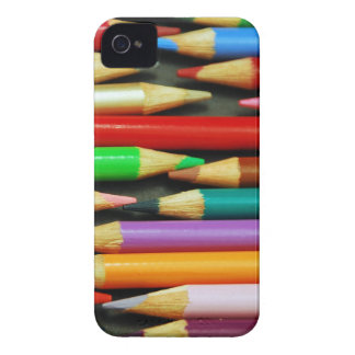 Print of Colourful pencils Case-Mate iPhone 4 Cases