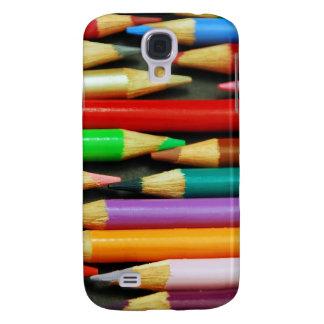 Print of Colourful pencils HTC Vivid Cases