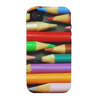 Print of Colourful pencils Vibe iPhone 4 Case