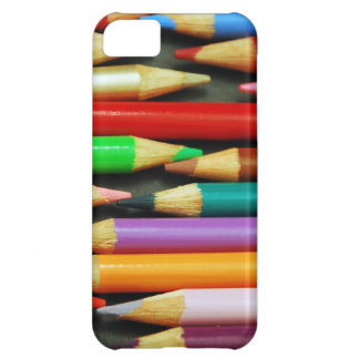 Print of Colourful pencils Cover For iPhone 5C