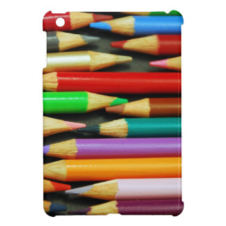 Print of Colourful pencils Case For The iPad Mini
