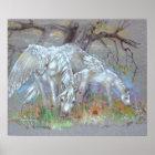 PRINT - Pegasus Mother & Foal