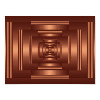 Print Rectangle Vision Copper