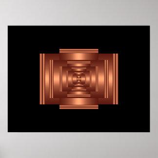 Print Rectangle Vision Copper 2