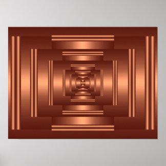 Print Rectangle Vision Copper