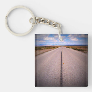 Print Square Phone Photo Key Ring
