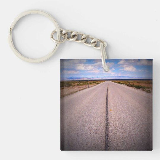 Print Square Phone Photo Key Ring