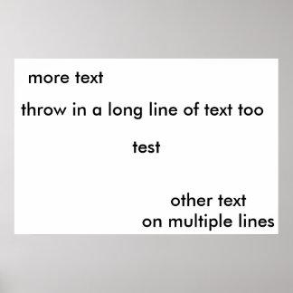 print test for dpl