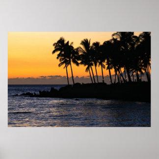 Print: Twilight At Waikoloa