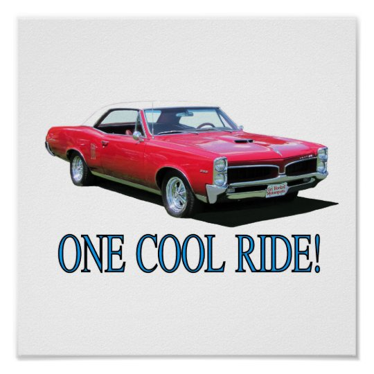 "Print with ""One Cool Ride!"""