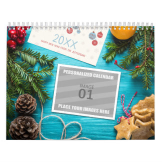 Printable 2018 Blank Family Photo Holiday Picture Calendar