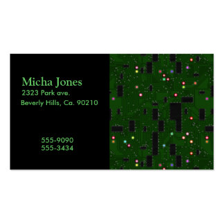 Printed Electronic Circuit Board Pack Of Standard Business Cards