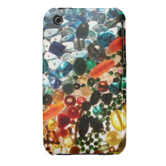 Printed Glass Bead Phone Cover