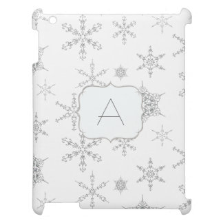 Printed Jewel Snowflakes Jewelry Winter Bling Case For The iPad