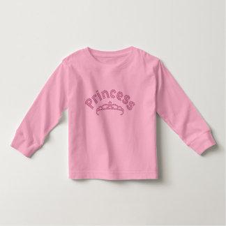 Printed Rhinestone Princess Tiara Toddler T-Shirt