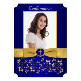 PRINTED RIBBON Ticket Shaped Confirmation Photo Custom Invites