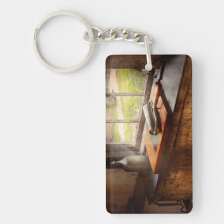 Printer - A hope and a brayer Double-Sided Rectangular Acrylic Key Ring