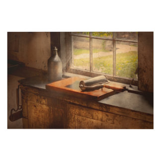 Printer - A hope and a brayer Wood Canvases
