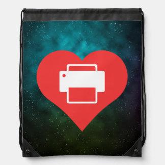 Printer User Manuals Pictogram Backpacks