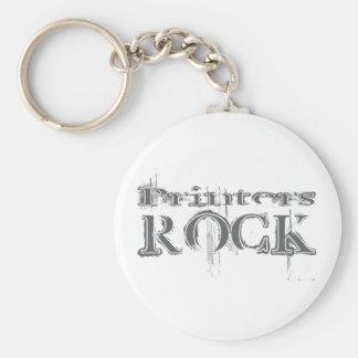 Printers Rock Keychain