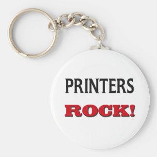 Printers Rock Key Chains
