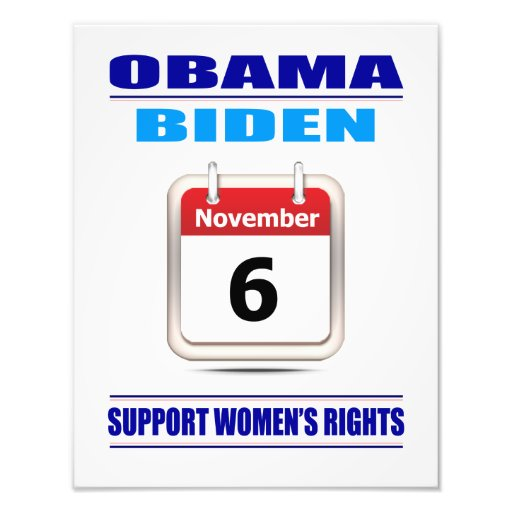 Prints: Support Women's Rights Photographic Print