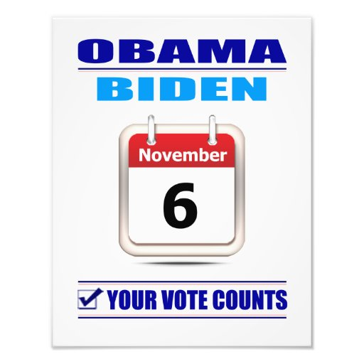 Prints: Your Vote Counts Photographic Print