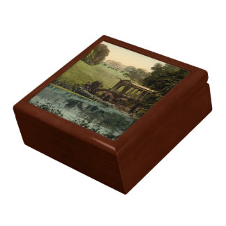 Prior Park College with Palladin Bridge, England Large Square Gift Box